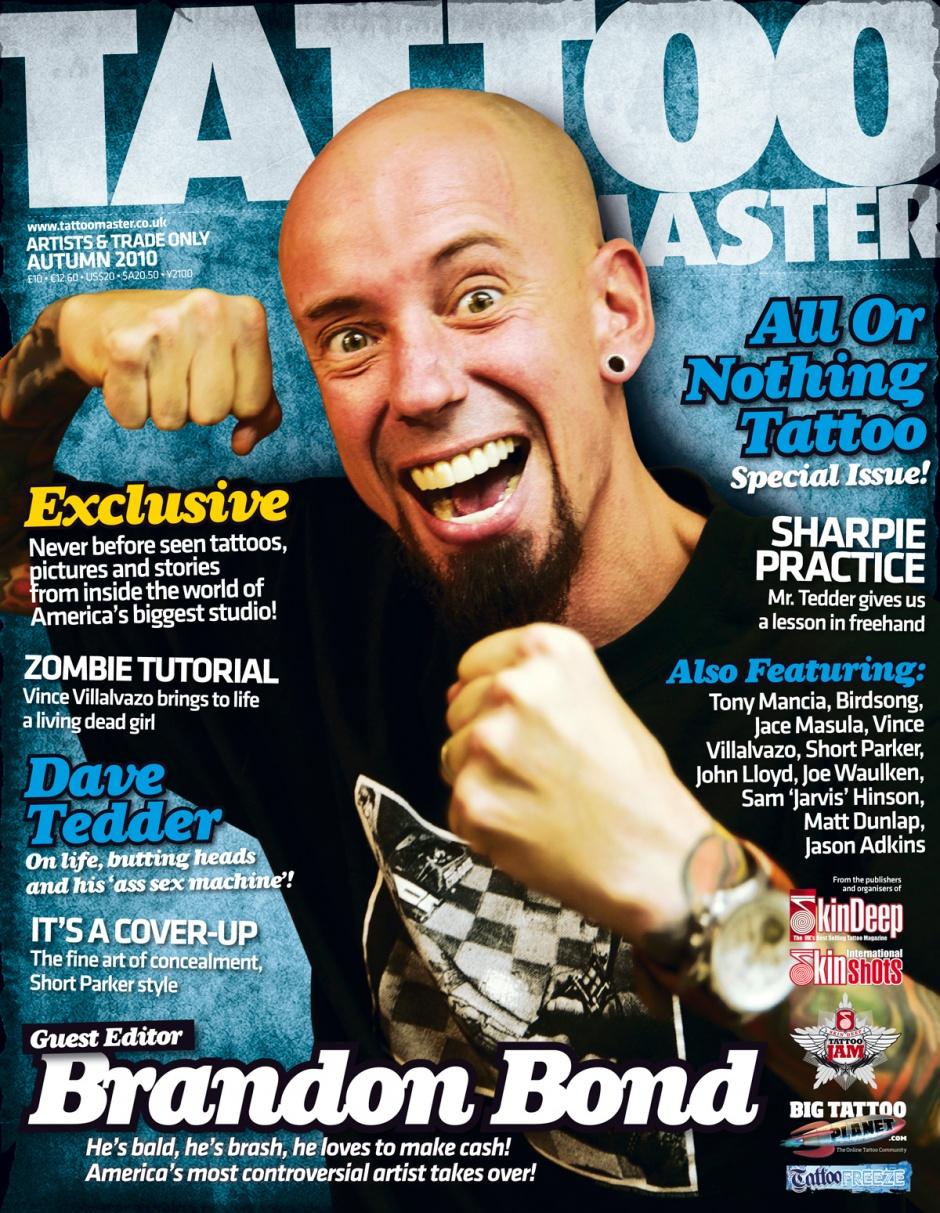 Tattoo master 8 2008 российский журнал о татуир